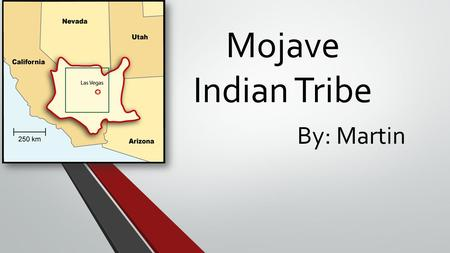 Mojave Indian Tribe By: Martin. Where did they lived. They lived in South Western California. They lived South Western Arizona. They lived near the Colorado.