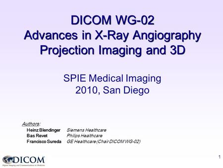 Advances in X-Ray Angiography Projection Imaging and 3D