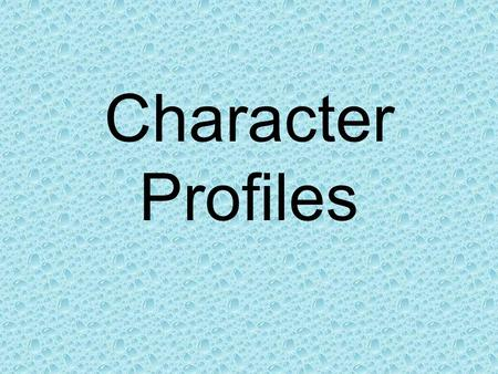 Character Profiles. Mario Full Name: Mario Address: Mushroom Kingdom Creators: Nintendo First Appearance: Donkey Kong Game (1981) Found in: Comics, Video/Computer.