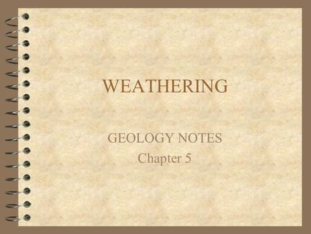 A Treatise on Geology/Chapter 5