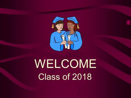 Class of 2018 WELCOME. Here to Help You Dale Leach Principal Matt BlairAssistant Principal Sharon Gilbert Counselor A-K Heidi Klippert Holboy Counselor.