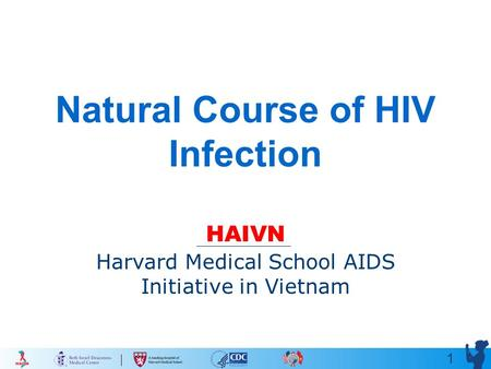 1 Natural Course of HIV Infection HAIVN Harvard Medical School AIDS Initiative in Vietnam.