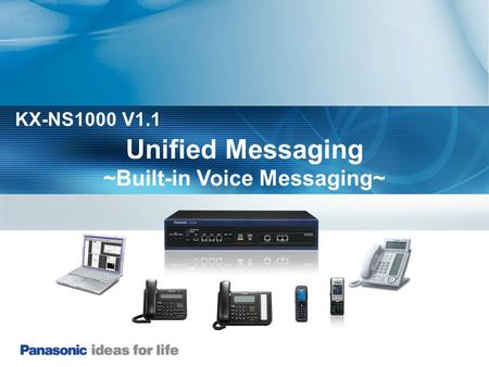 ~Built-in Voice Messaging~