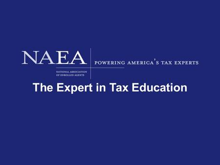 The Expert in Tax Education. How to Survive an Audit.