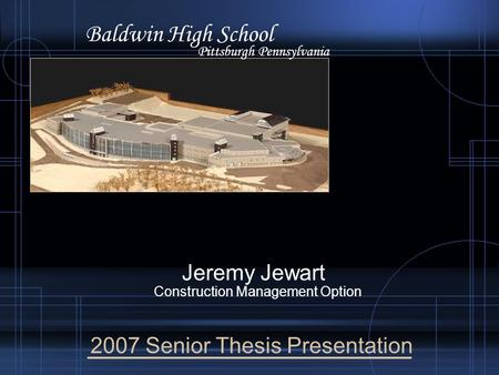 jeremy thesis Author info seidt, jeremy daniel social media jeremy plastic deformation electronic thesis or dissertation ohio state university, 2010.