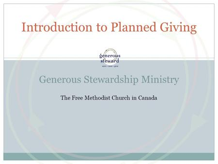 Introduction to Planned Giving