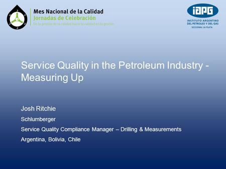 Service Quality in the Petroleum Industry - Measuring Up