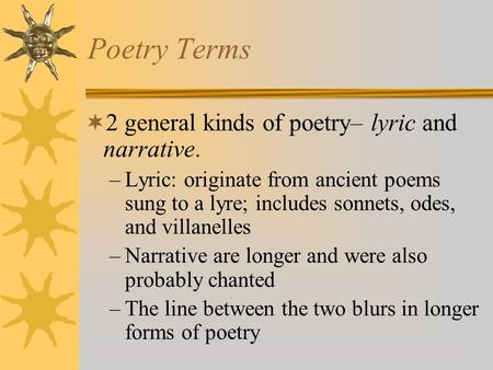 poets essay