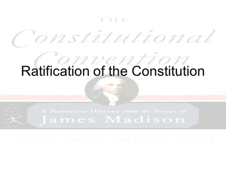 The compromises of the constitution strengths