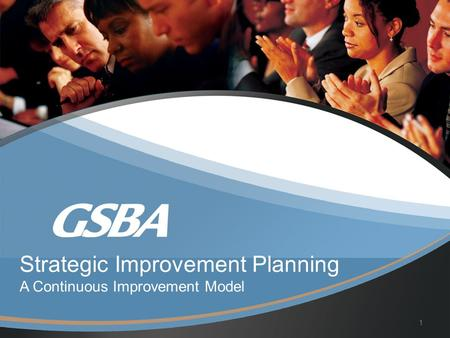 Strategic Improvement Planning A Continuous Improvement Model 1.