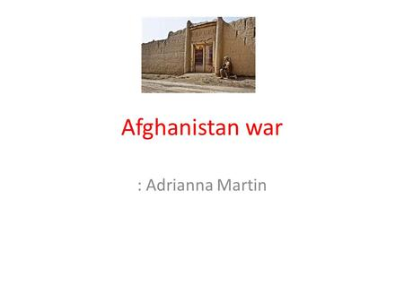 why did the war in afghanistan happen dating