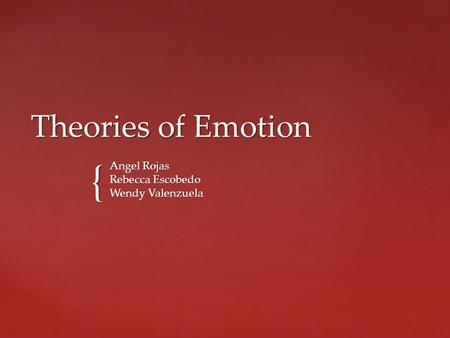Applying motivation and emotion theories