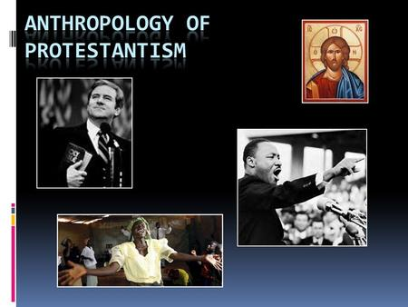"Protestantism  Began as reform movement in Catholic church in early 1500's in EU  Martin Luther objected to ""sale of indulgences,"" questioned celibacy."