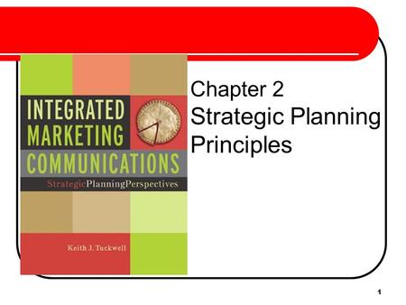 Chapter 2 Strategic Planning Principles