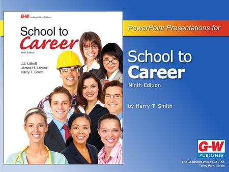 Part 1—Career Exploration Chapter 2 Understanding Work-Based Learning.
