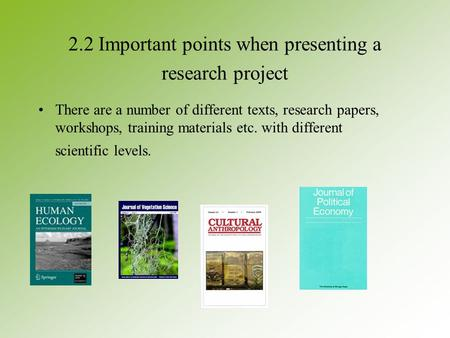 discussion sections research papers