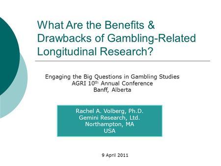 Drawbacks of gambling new casino in new westminster