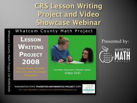 Presented by:. On Your Own Revise Lesson PROJECT MEETING 2 AssessmentSubmit Lesson for Staff Review On Your Own Trade Lesson Plans and Review with Your.