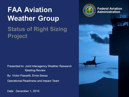 FAA Aviation Weather Group