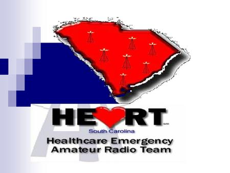 The original HEART project was designed to provide a reliable backup communication system for hospitals and healthcare facilities during a time of crisis,