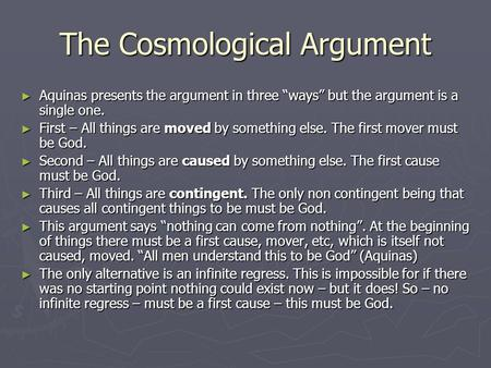 Evaluate the Teleological Argument for the Existence of God