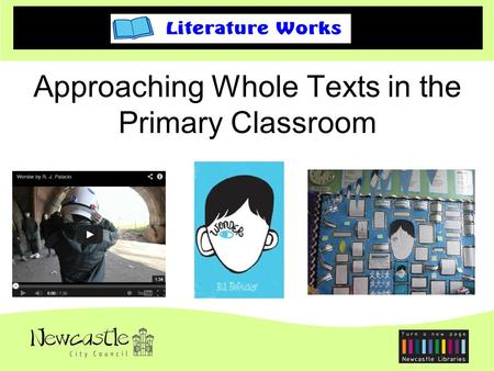 Approaching Whole Texts in the Primary Classroom.