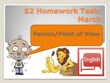 Homework Tasks
