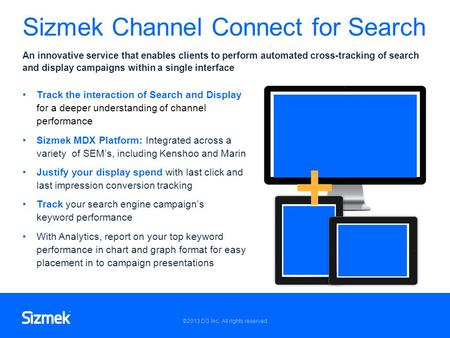 Sizmek Channel Connect for Search