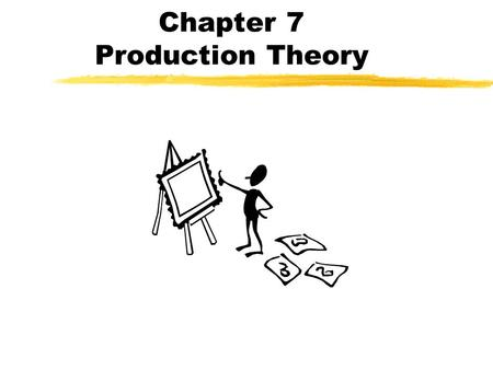 Chapter 7 Production Theory. Production Function A table, graph, or equation showing the maximum output rate of the product that can be achieved from.