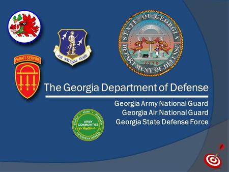 The Georgia Department of Defense