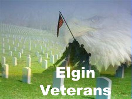 Elgin Veterans.