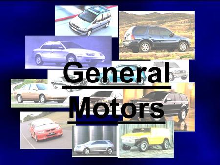 Volkswagen teddie stirling wen yao sally yueyuan zhu for General motors company profile