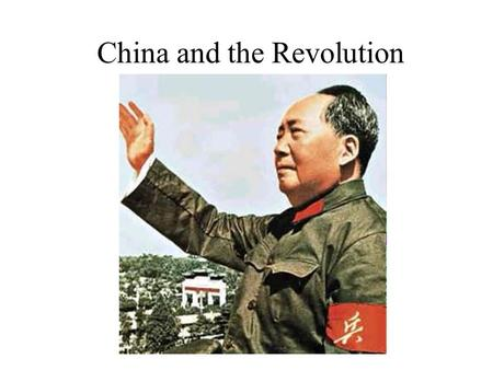 China and the Revolution. The End of Chinese Imperial Rule Reasons –foreign influence during Age of Imperialism China abused by Western nations –China.