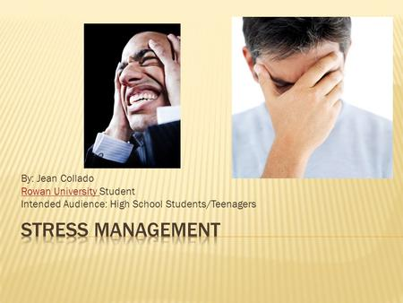 manage stress at university Rate this article and enter to win as fall winds down and the end of this semester finally comes into focus, you may be near the end of your rope in terms of managing stress somewhere—amid exams, roommates, bills, work, papers, all that other day-to-day stuff, and maybe still trying to manage a social existence—you're probably trying to keep it all together.