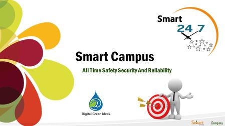 A Company Smart Campus All Time Safety Security And Reliability.