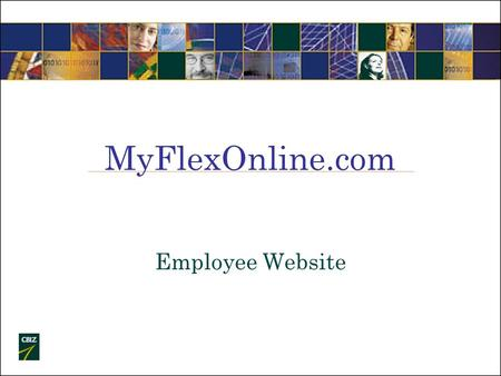 MyFlexOnline.com Employee Website. First Time User Log In Log on to myflexonline.com Click New User.