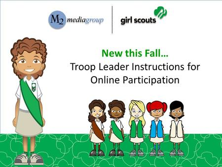 Troop Leader Instructions for Online Participation