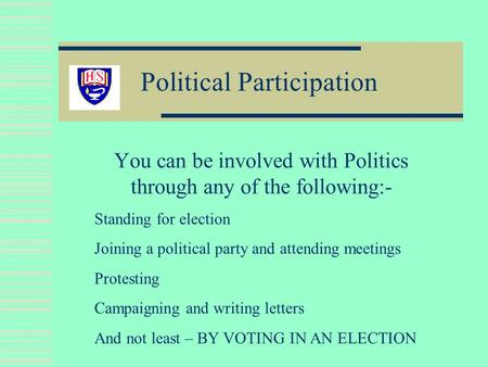 essays importance political participation Important of people's participation in public administration are essay on the importance of people's participation and not political participation.