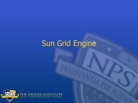 Sun Grid Engine. Grids Grids are collections of resources made available to customers. Compute grids make cycles available to customers from an access.