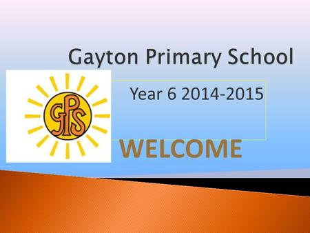 Year 6 2014-2015 WELCOME.  The Staff working in our year group this year are: Mr Rimmer - Class Teacher  Mrs Ashcroft -Teaching Assistant  Mrs Bradshaw.