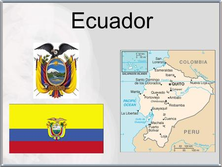Ecuador. The Basics Despite diversity of agricultural exports (leading world provider of bananas, $1.2 billion in 2004, and major exporter of shrimp),