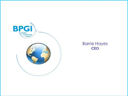 Barrie Hayes CEO. Challenging Office products Markets over the last 5 years & Changing.