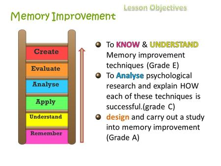 essay memory techniques Memory & study skills: mnemonic devices peg systems use a variety of study techniques flashcards note review outline reading study groups 18 changing focus of graduate study write out essay questions you'd pose if you.