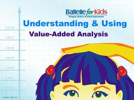 Copyright ©2006. Battelle for Kids. Understanding & Using Value-Added Analysis.