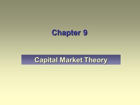 capital market theory Efficient market hypothesis - definition for efficient market hypothesis from morningstar - a market theory that evolved from a 1960's phd dissertation by eugene fama, the efficient market hypothesis states that at any given time and in a liquid market, security prices fully reflect all available information.