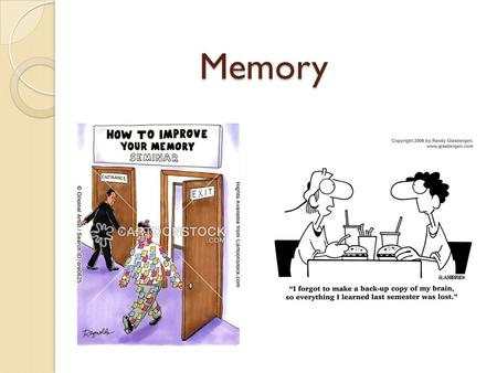 Memory. Atkinson and Shiffrin, (1968) classic model of memory.