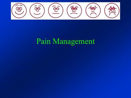 Pain Management. What is pain?  One of the most common reasons people seek healthcare  One of the most widely under- treated health problems.