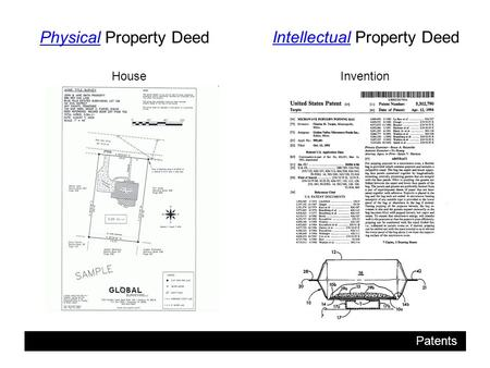 Patents Physical Property Deed Intellectual Property Deed InventionHouse.