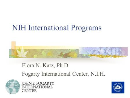 NIH International Programs