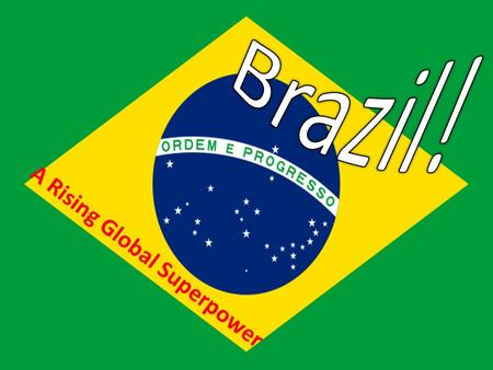 A R i s i n g G l o b a l S u p e r p o w e r. A grouping acronym that refers to the countries of Brazil, Russia, India, and China: BRIC All deemed to.